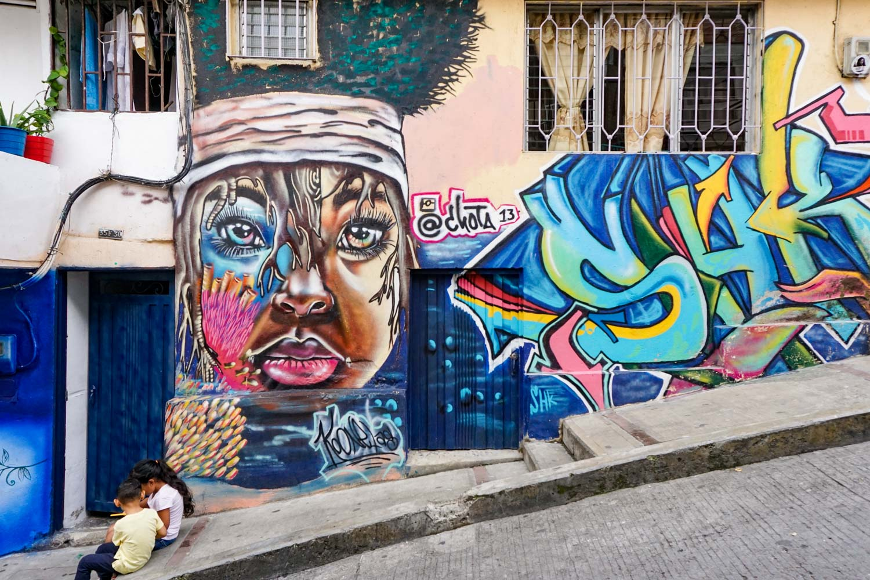 comuna 13 medellin colombia street art