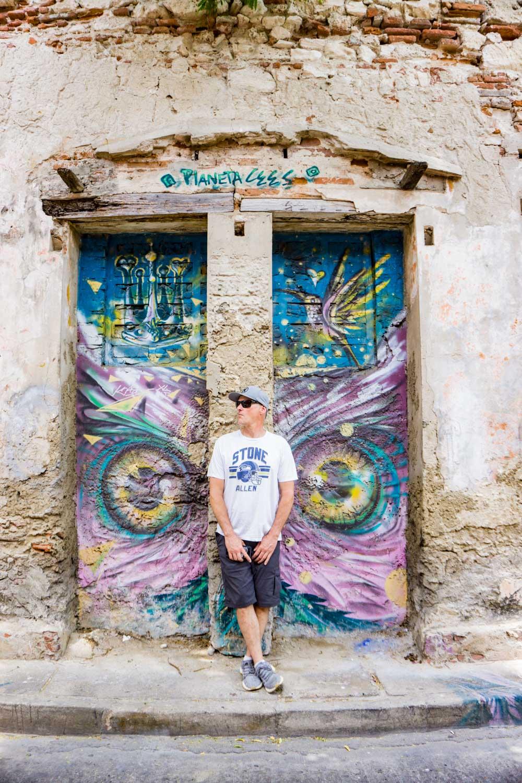 Getsemani Cartagena street art