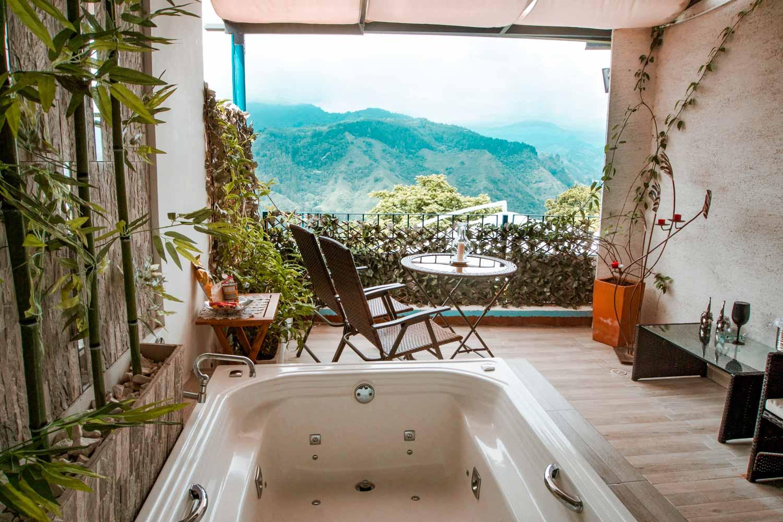 Hotel El Mirador, Salento Colombia