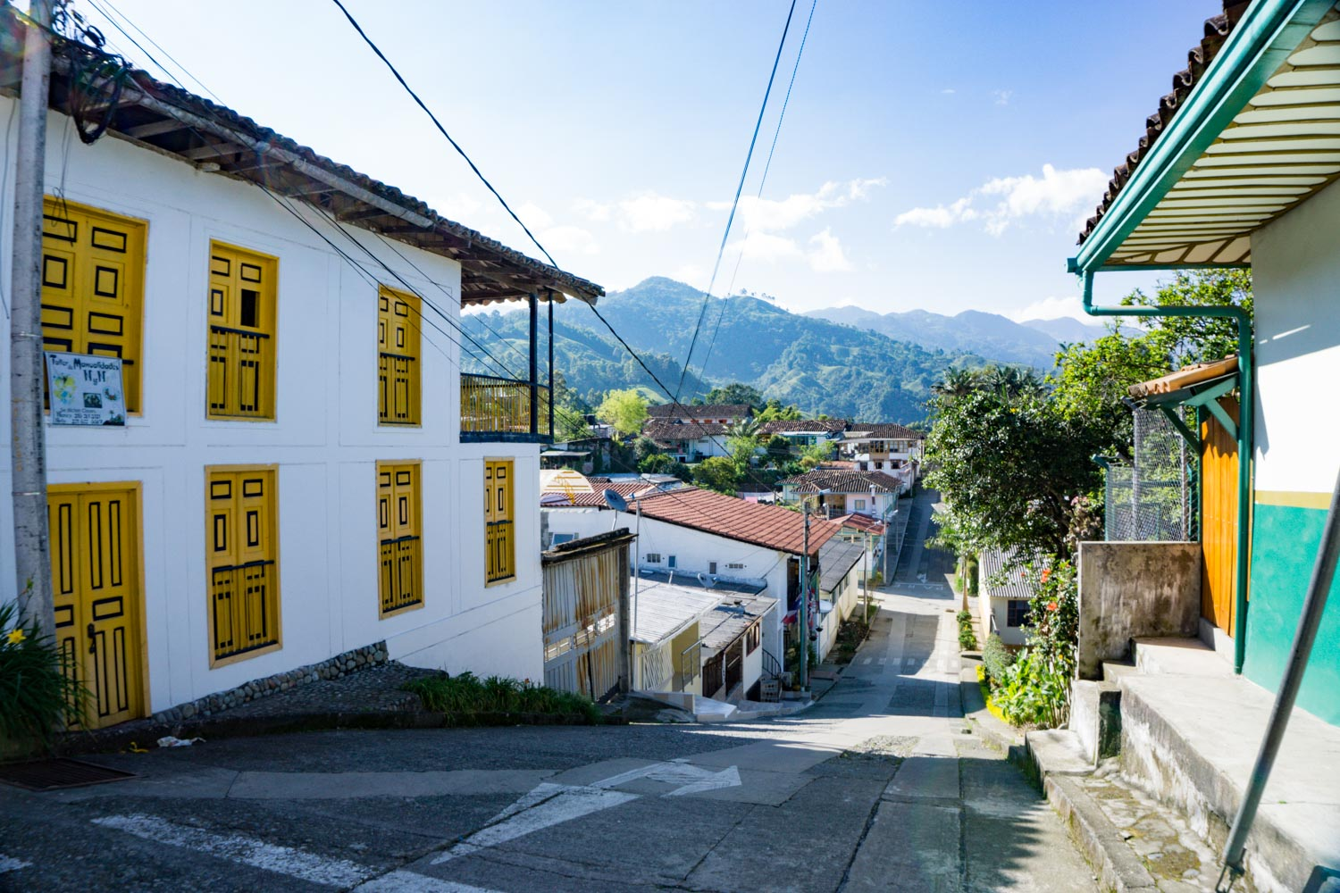 Streets of Salento, Colombia