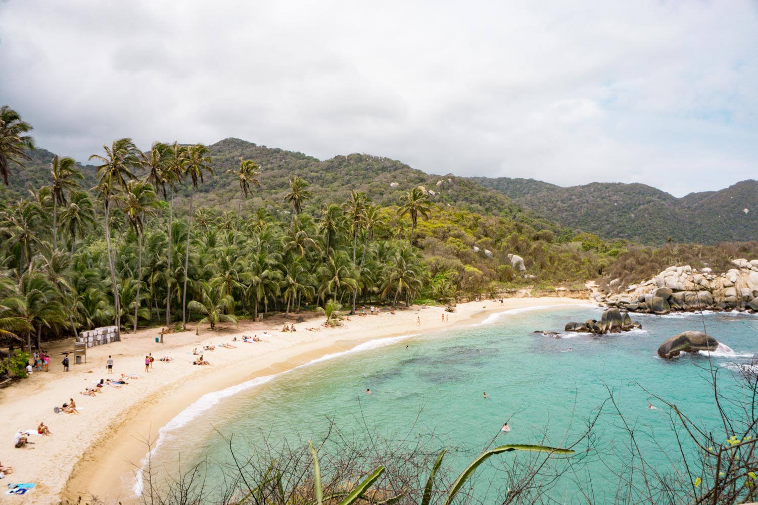 tayrona national park, cabo san juan beach