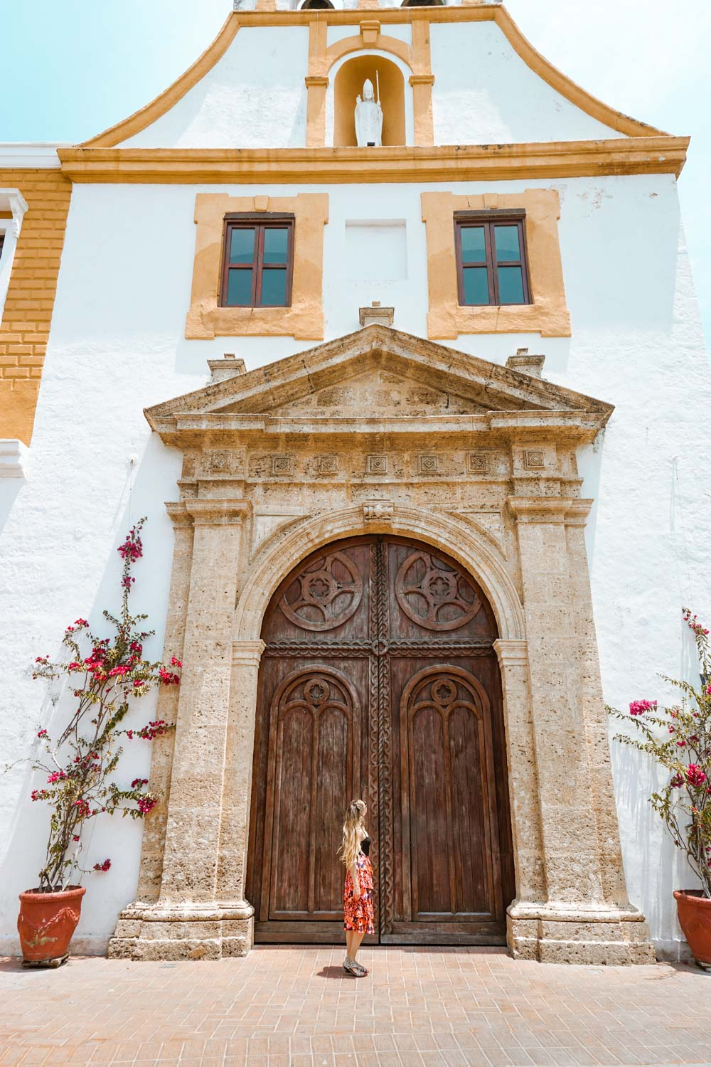 best churches for photos in Cartagena