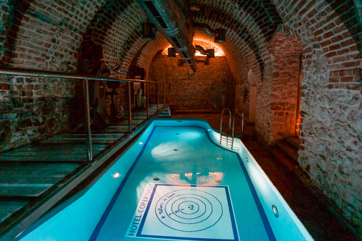 Hotel Copernicus pool Krakow