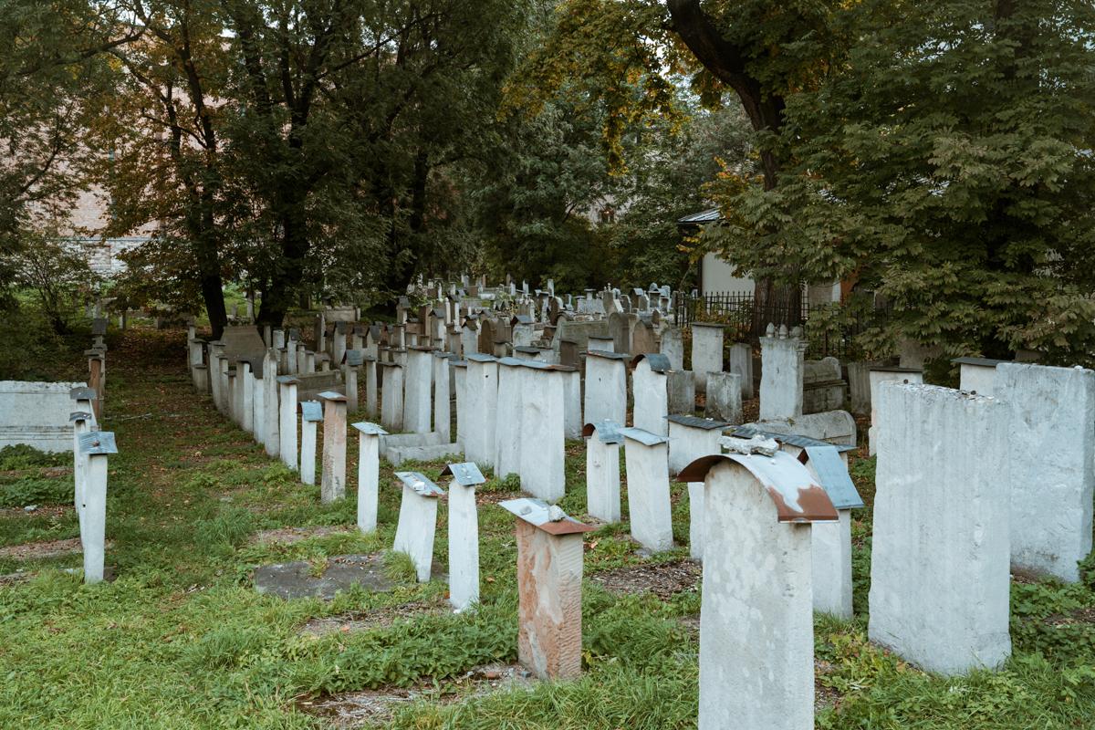 Jewish cemetery Kazimierz Krakow