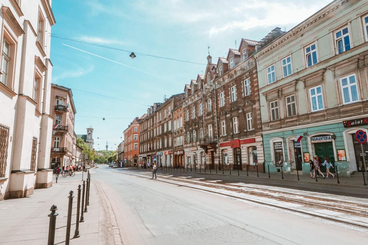 main street of Kazimierz