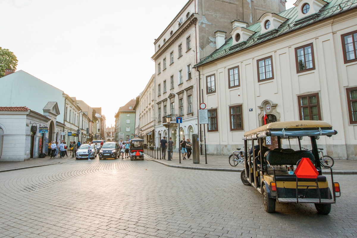 Electric cart tours krakow