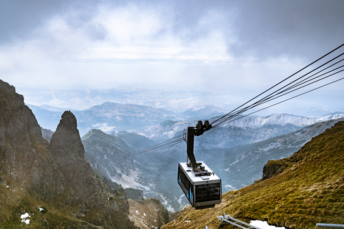kaspowry wierch cable car