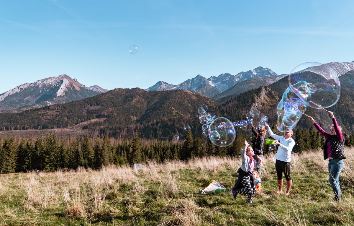 tatra mountain views poland