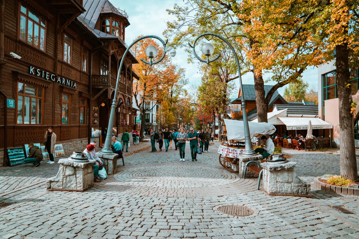 Krupowki Street Zakopane Poland