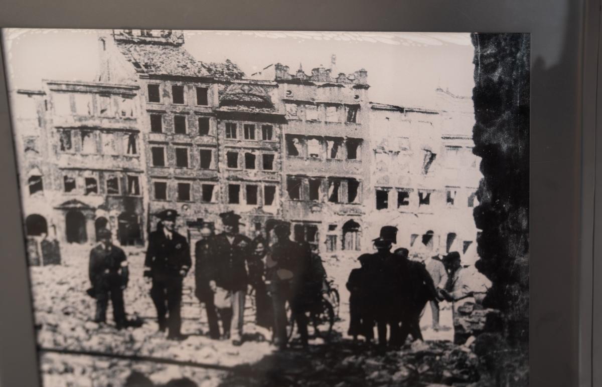 Warsaw destruction ww2