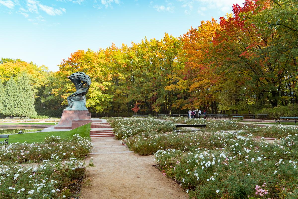 Lazienki Park Warsaw