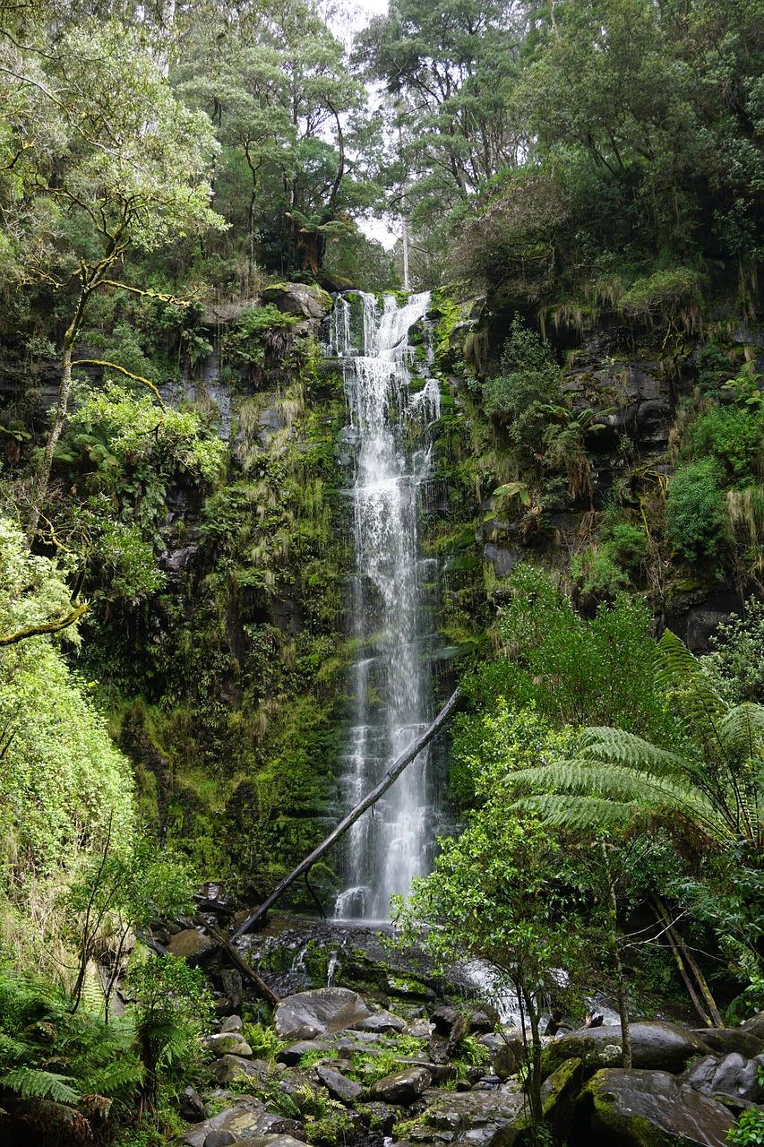 Great Ocean Road itinerary Erskine Falls Lorne