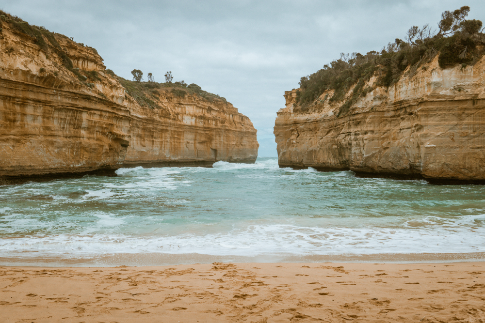great ocean road australia road trip loch ard gorge