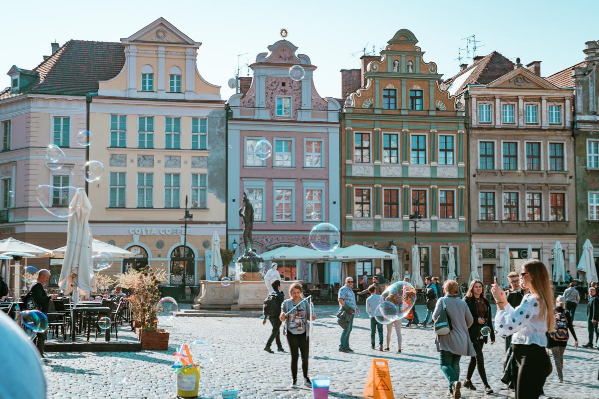 visit Poznan poland square