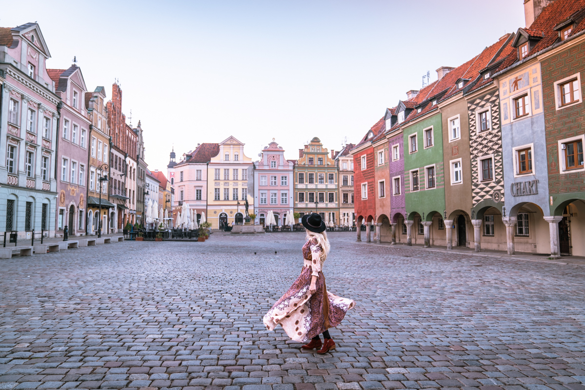 Poznan old town Square, Poland