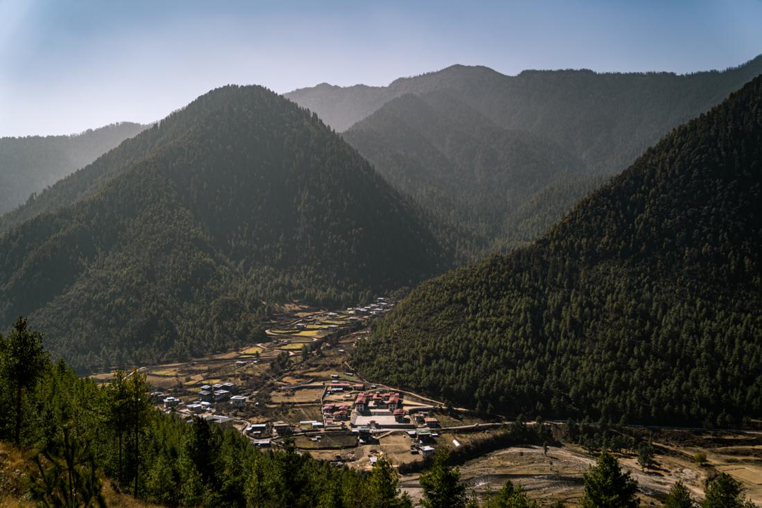 Haa Valley village views