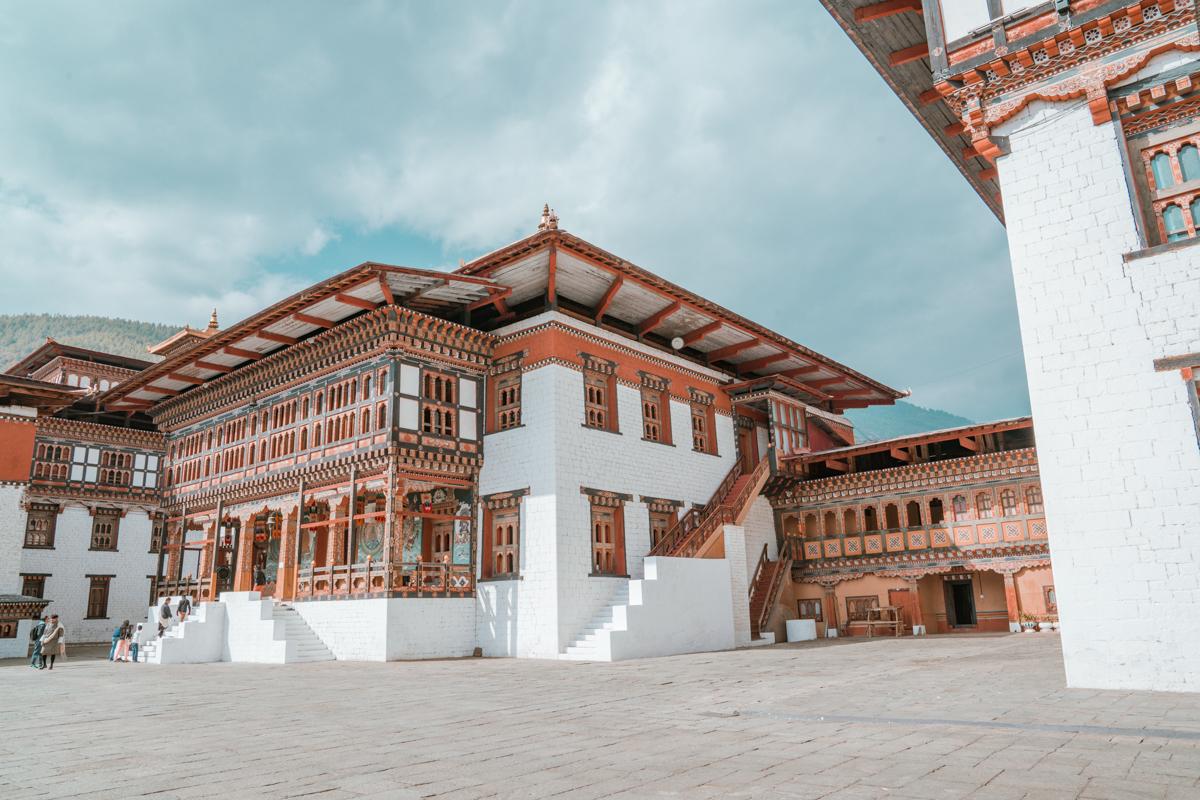thimphu fortress bhutan