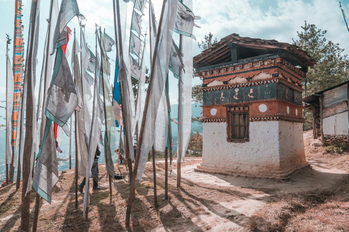 thimphu hike bhutan