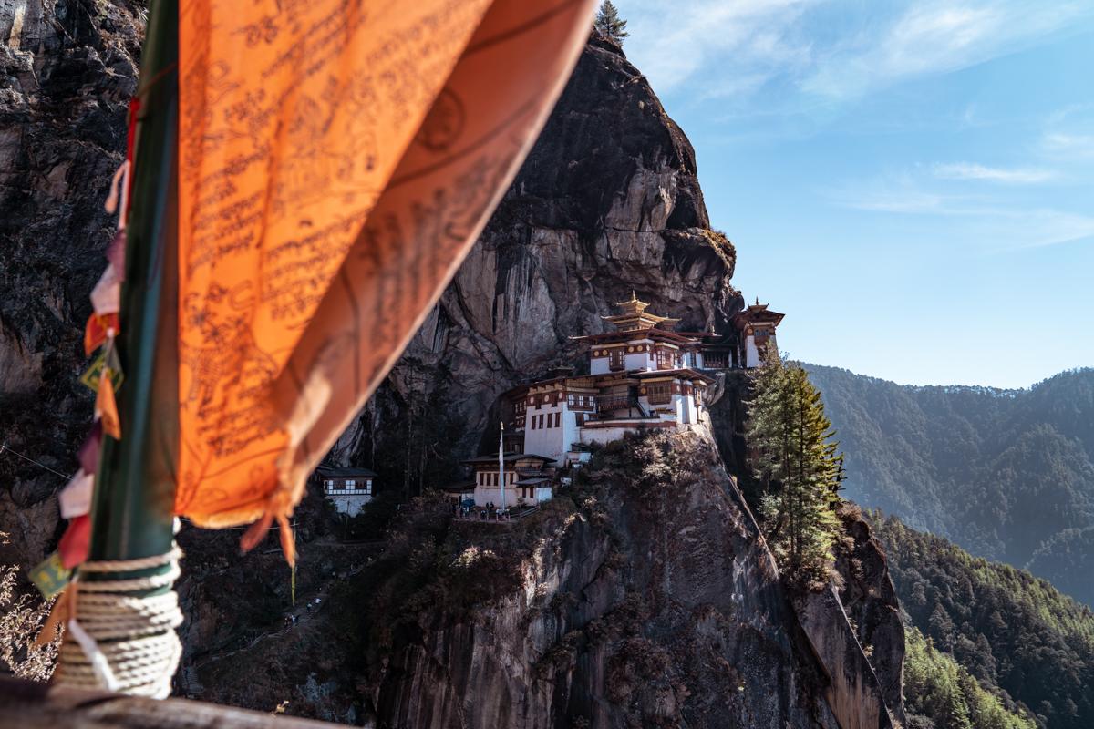 tigers nest bhutan