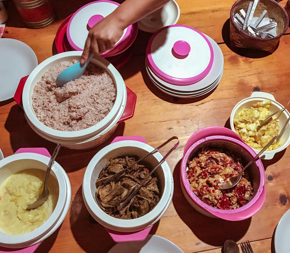farm house dinner paro bhutan