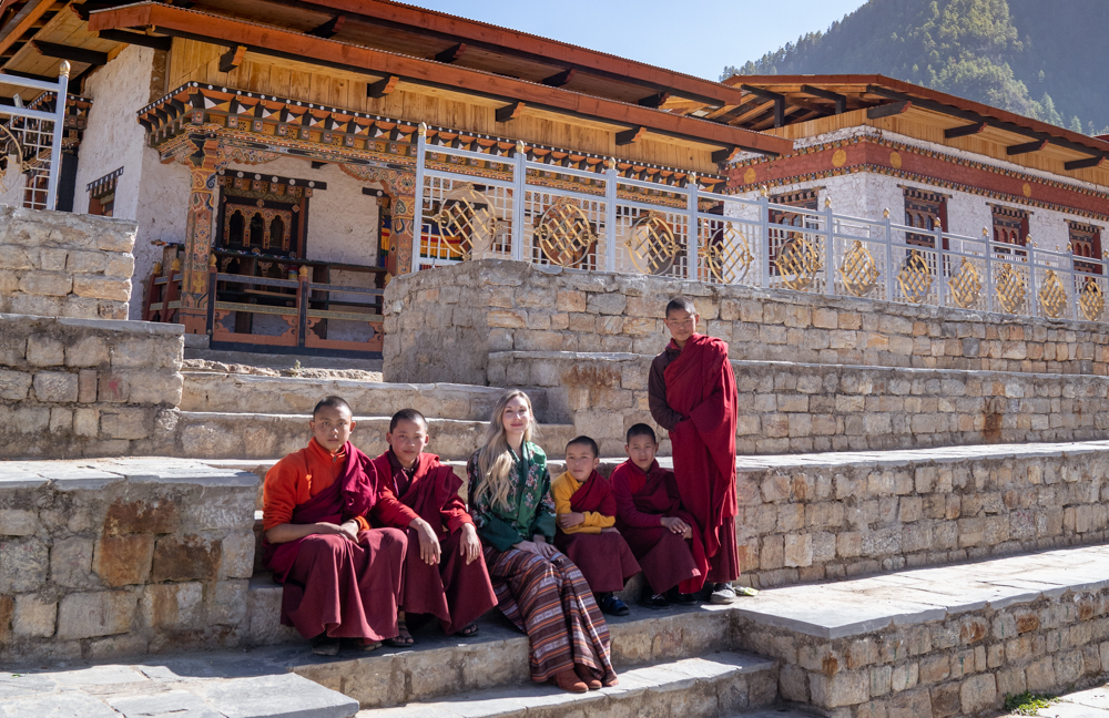 traditional clothing in Bhutan