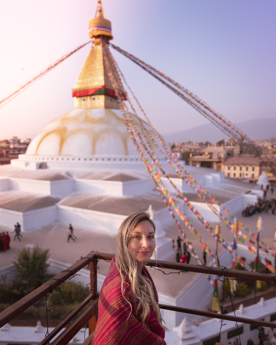 La Casita restaurant Boudhanath stupa Kathmandu