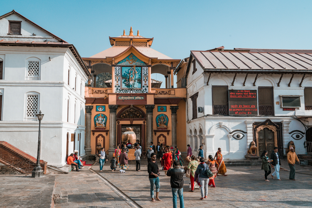 Pashupatinath Temple entrance Kathmandu