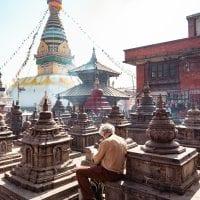 Swayambhunath Monkey Temple One day in Kathmandu
