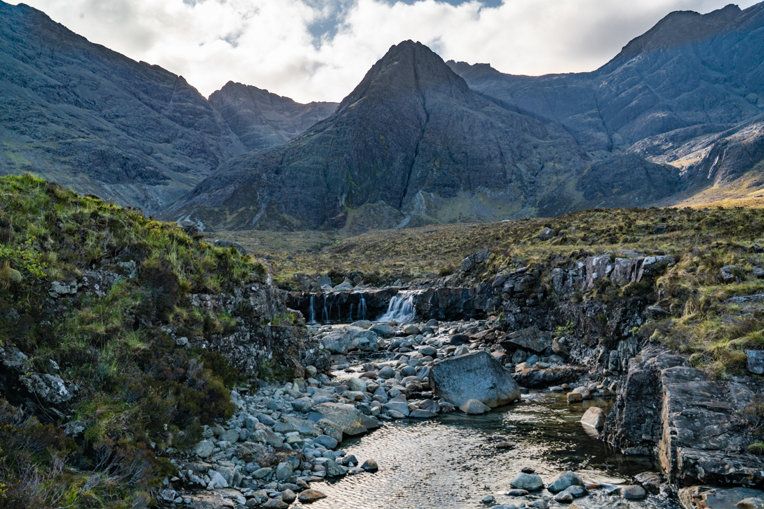 Fairy Pools Isle of Skye morning light
