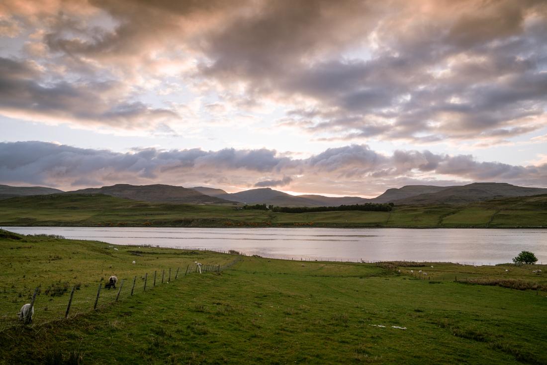 Isle of Skye airbnb skeabost