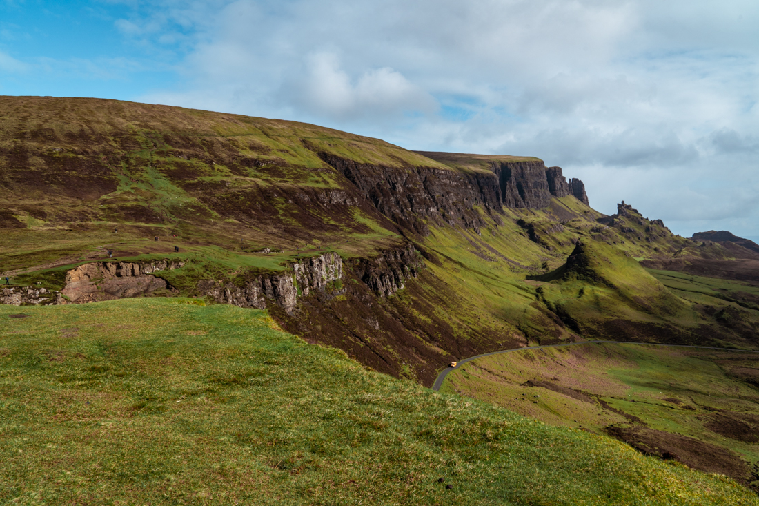 Quiraing Isle of Skye in May
