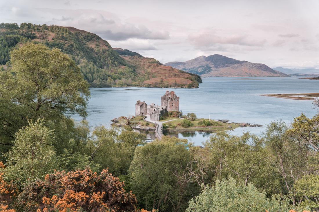 Eileen Donan Castle Viewpoint
