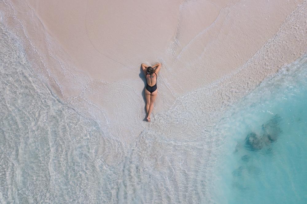Bikini beach Maldives