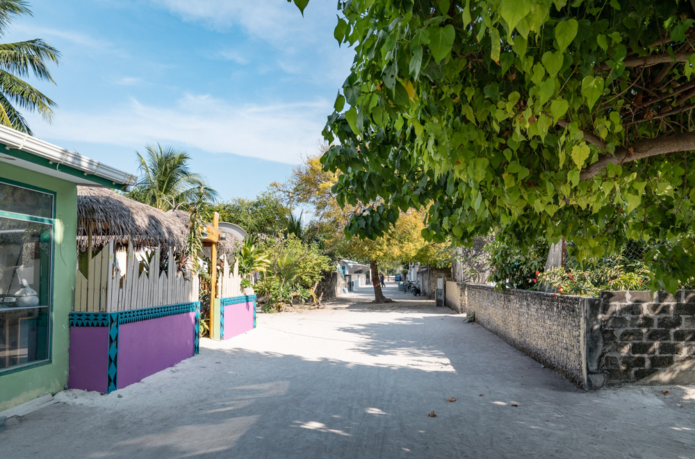 Fulhadhoo Local Street
