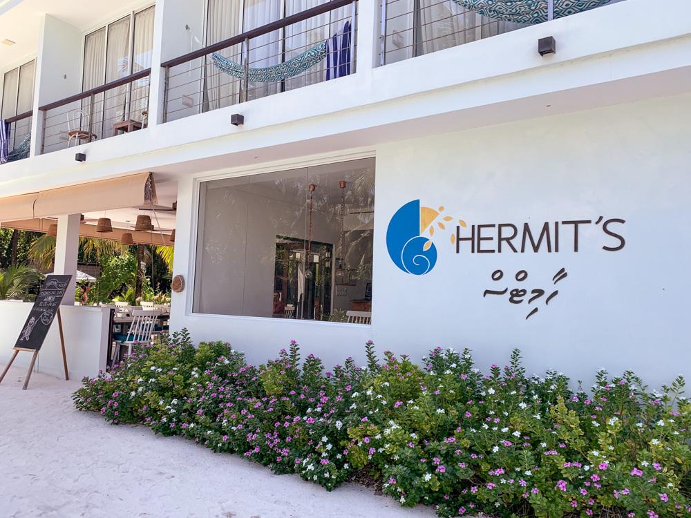 Hermits restaurant bliss dhigurah
