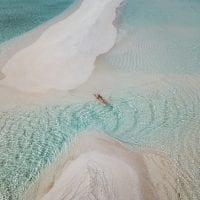 Dhigurah sand bars