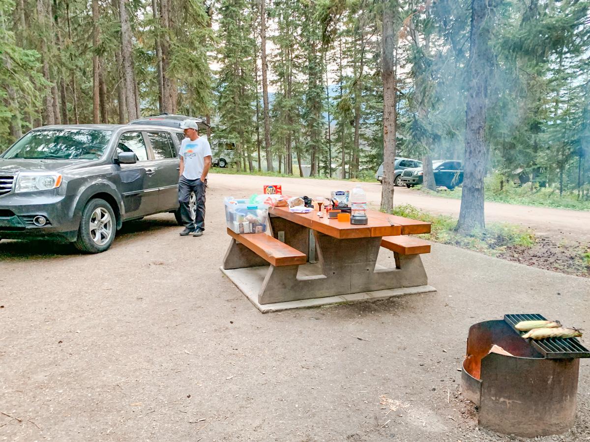 camping Jasper National Park
