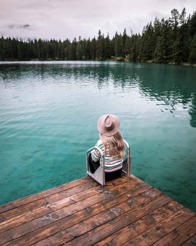 Annette Lake Jasper National Park