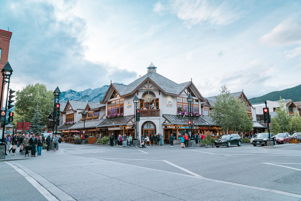 Banff town, Alberta