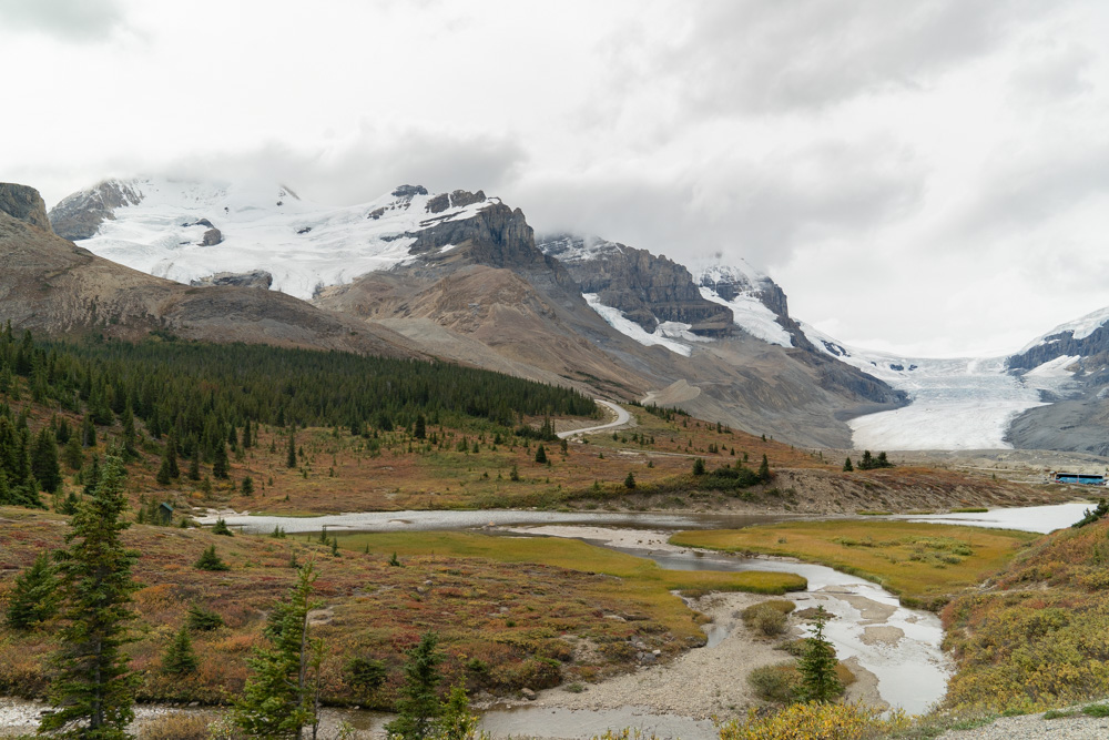 Icefields Parkway views