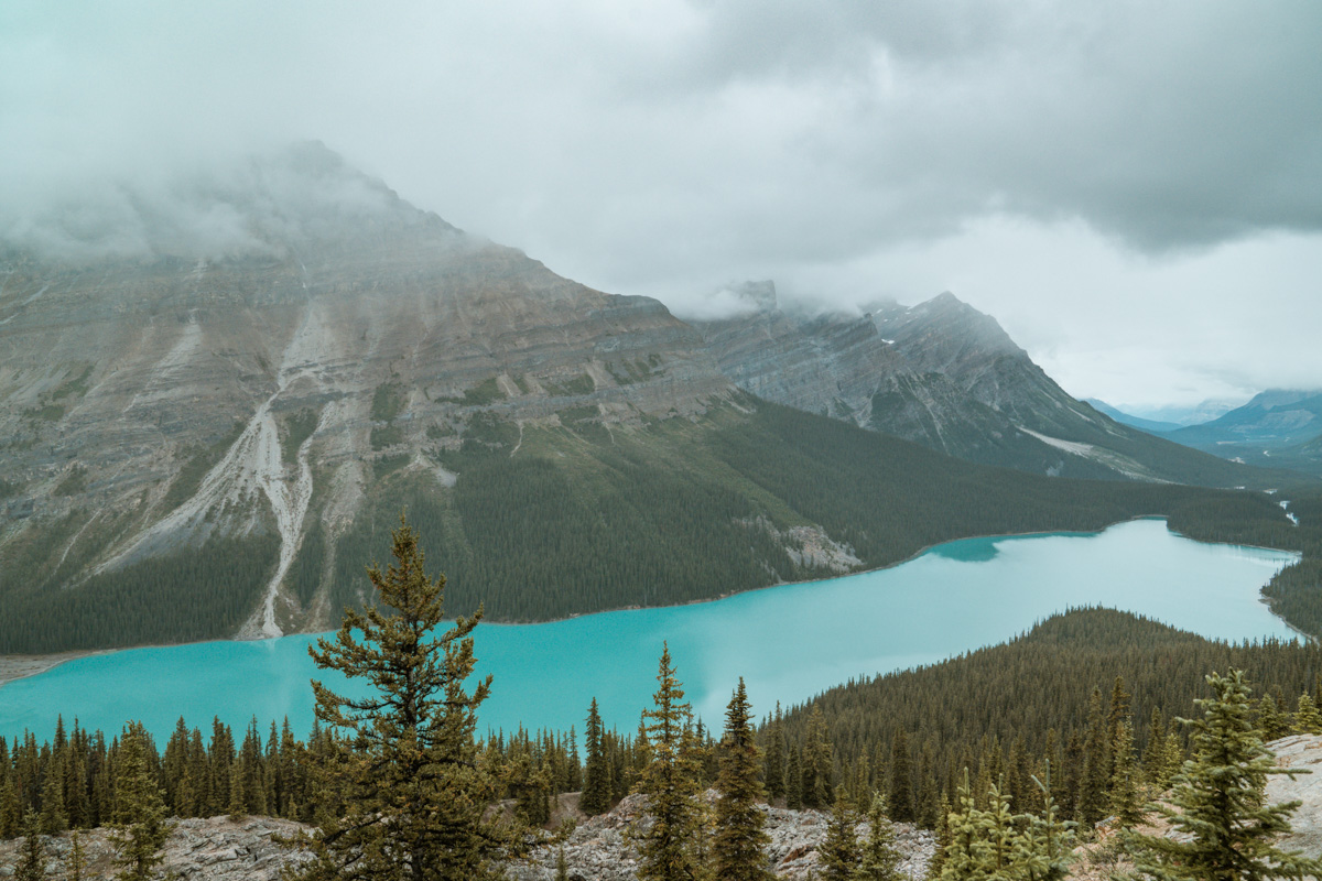 Peyto Lake Banff Nation