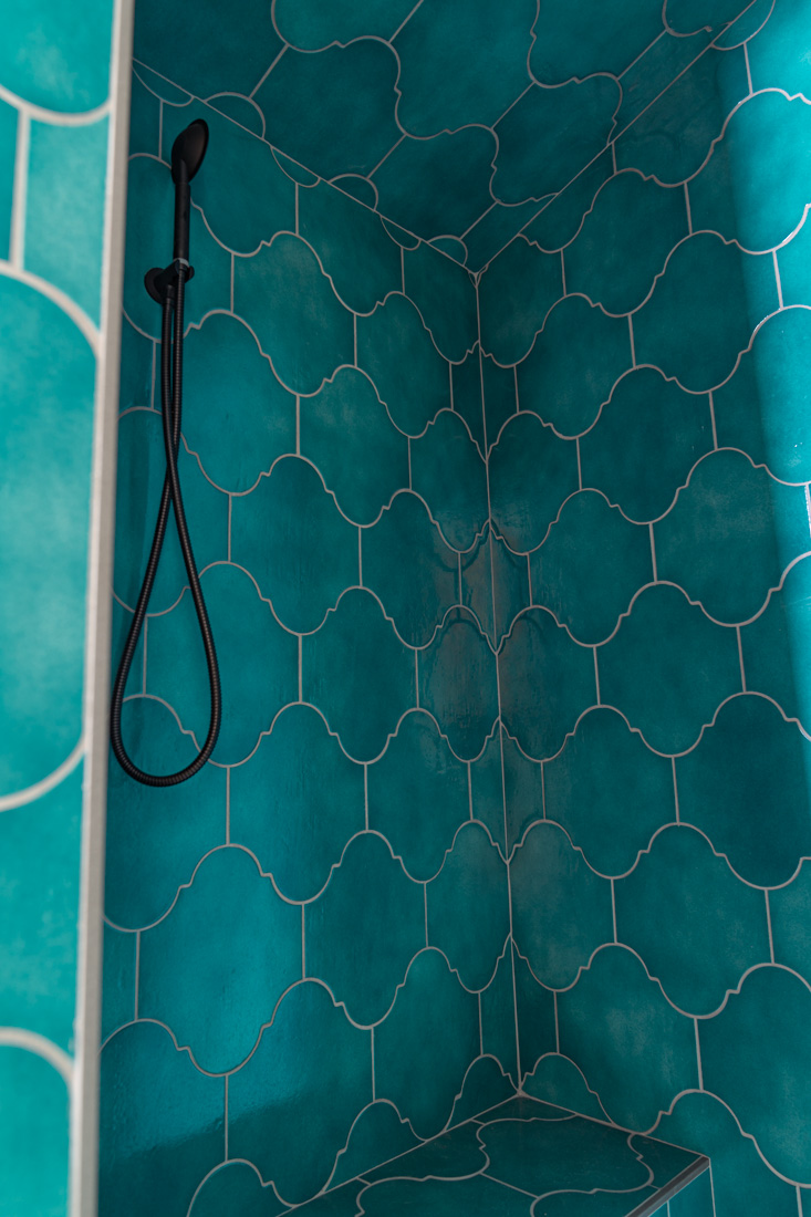 Ivy Hill Appaloosa arabesque moroccan turquoise tile
