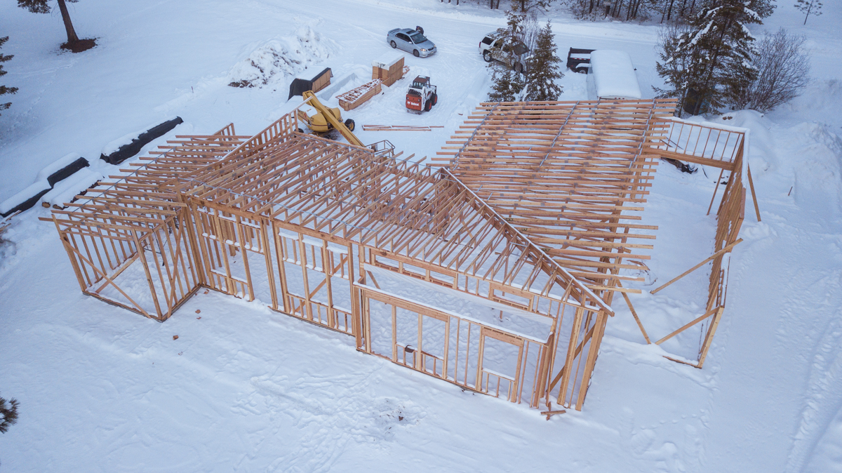 new house trusses